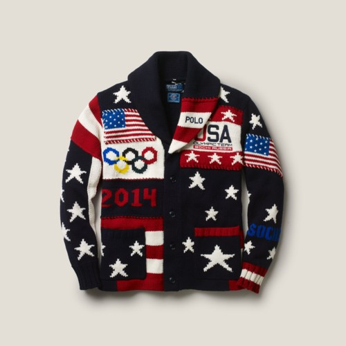 The United States delegation was an unexpected fashion winner at Friday night's Opening Ceremony to the Winter Olympics. (Getty Images) After earning jeers and getting compared to ugly Christmas sweaters upon their debut last month, the Ralph Lauren uniforms designed for Team USA looked far better in the context of the Olympics.