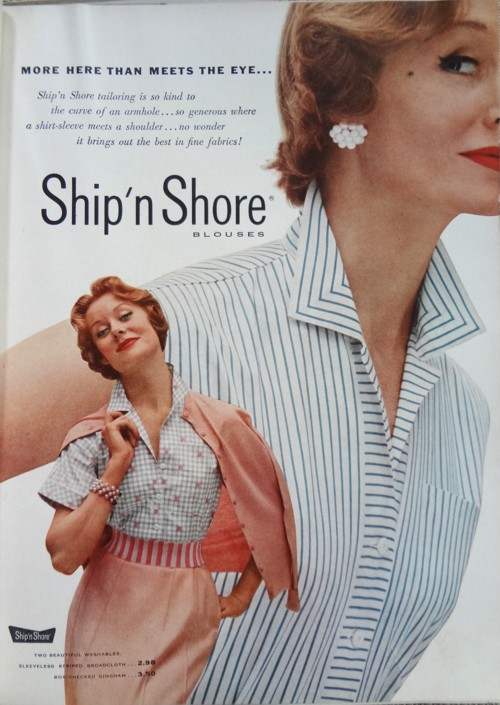 Ad Campaign Ship N Shore 1953 The Vintage Traveler
