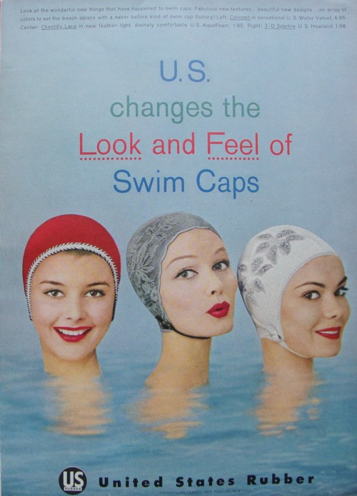 Look at the wonderful new things that have happened to swim caps ...