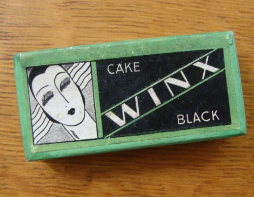 winx art deco mascara the vintage traveler. Black Bedroom Furniture Sets. Home Design Ideas