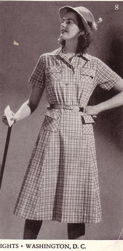 Vintage Womens Golf Clothing History Fuzzylizzie