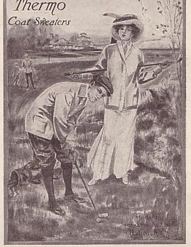 In 1904 Thomas Burberry Of London Introduced Some Improvements Into The Womens Golf Clothing Sold His Store They Included Free Stroke Coat Which