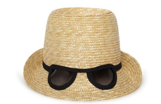 1960s Sun Hat, Glasses Included | The Vintage Traveler