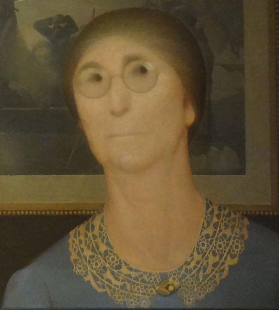 Daughters Of Revolution Grant Wood The Vintage Traveler