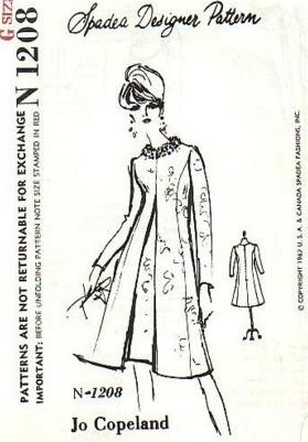 Spadea Sewing Patterns Fuzzylizzie Vintage